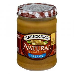 Smucker's Natural Creamy Peanut Butter