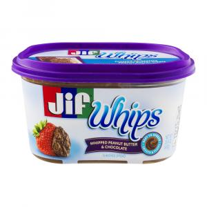 Jif Whips Peanut Butter And Chocolate