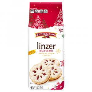 Pepperidge Farm Linzer Raspberry Cookies