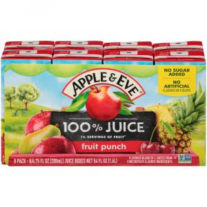 Apple & Eve Fruit Punch 100% Juice Blend