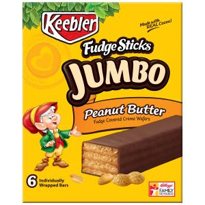 Keebler Fudge Shoppe Jumbo Peanut Butter Sticks Reviews