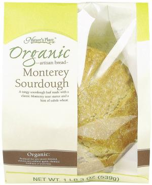 Nature's Place Organic Monterey Sourdough Bread