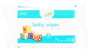 Home 360 Baby Scented Wipes Refill