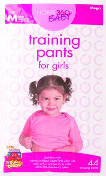 Home 360 Baby Medium Girl's Mega Training Pants