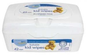 Home 360 Baby Kid's Wipes Tub