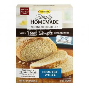 Fleischmann's Simply Homemade Country White Bread Mix