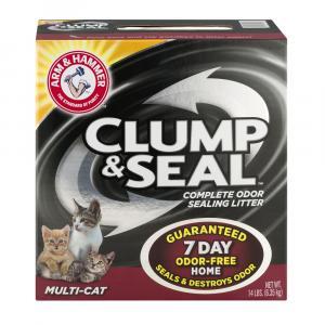 Arm & Hammer Clump & Seal Multi Cat Litter