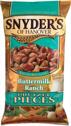 Snyder's Buttermilk Ranch Pretzel Pieces