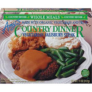 Amy's Veggie Steak & Gravy Frozen Meal