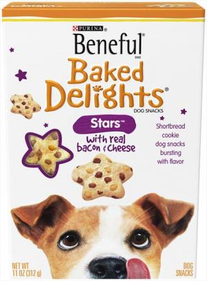 Purina Beneful Baked Delights Stars Dog Snacks