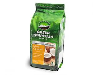 Green Mountain Ground Island Coconut Coffee