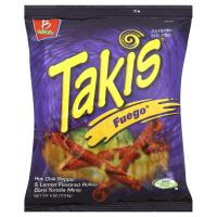 Barcel Takis Fuego Chili Pepper & Lime Corn Tortilla Snacks