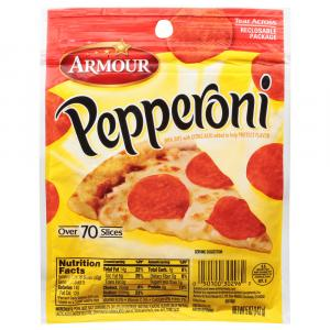 Armour Pillow Pack Italian Pepperoni
