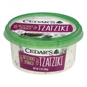 Cedar's Artichoke And Spinach Tzatziki