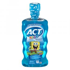 Act Anti-cavity Rinse Spongebob Squarepants