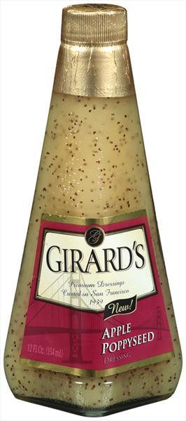 Girard's Apple Poppyseed Salad Dressing
