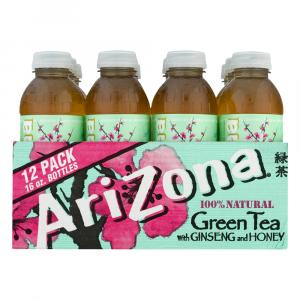 Arizona Diet Green Tea W/ginseng & Honey