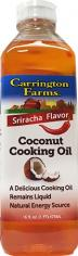Carrington Farms Siracha Coconut Cooking Oil