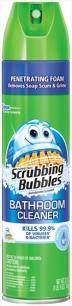 Scrubbing Bubbles Fresh Scent Aerosol 10% More Bonus