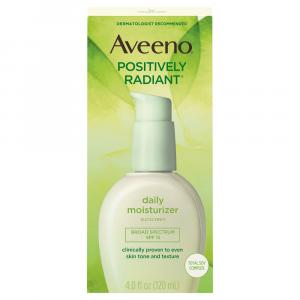 Aveeno Positively Radiant Daily Moisturizing Lotion