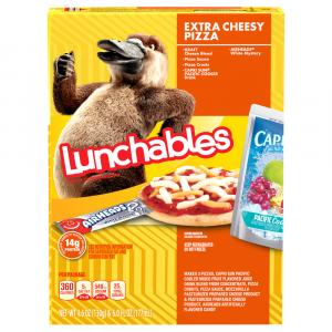 Lunchables Fun Pack Extra Cheese Pizza With Beverage