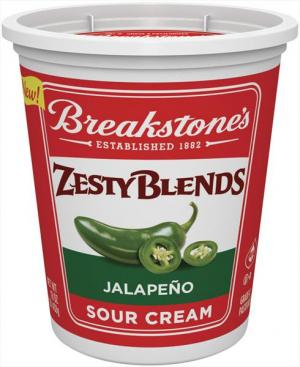 Breakstone's Zesty Blends Jalapeno Sour Cream