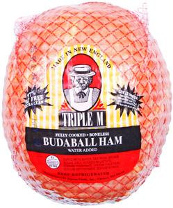 Triple M Boneless Budaball Ham